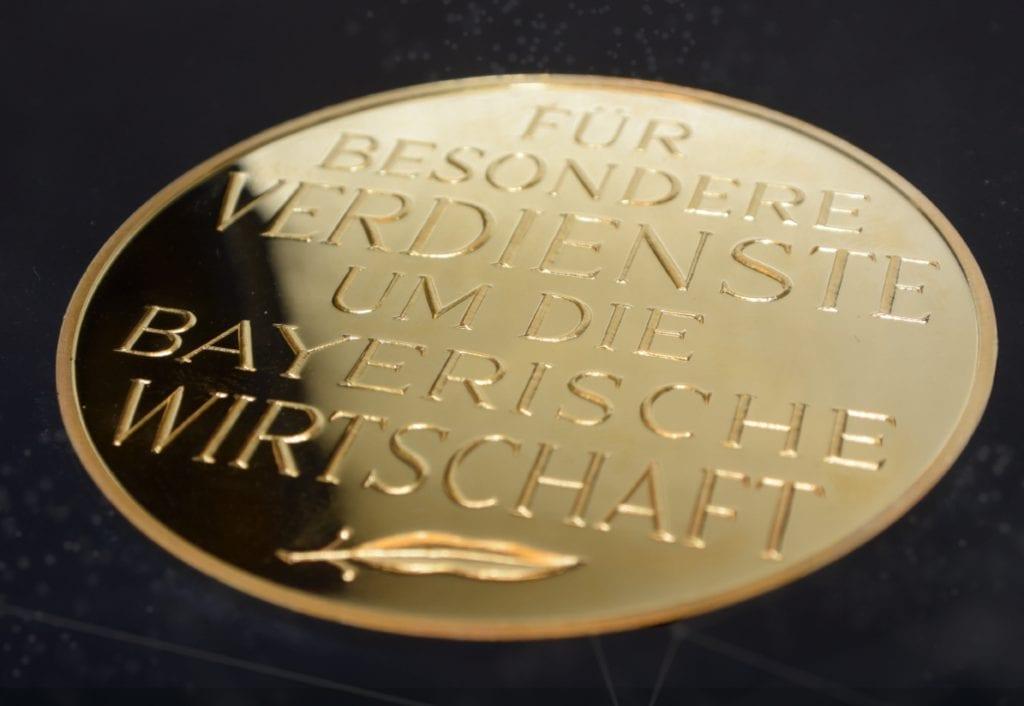 Bayrische Wirtschaftsmedaille 2016
